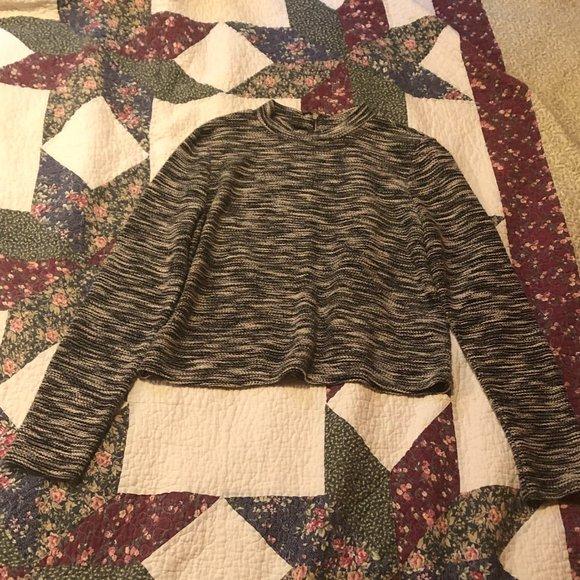 H & M Winter Dress Top